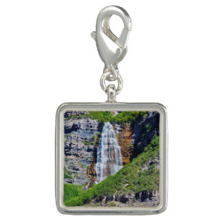 Utah Waterfall #1B - Charm - Square