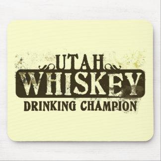 Utah Whiskey Drinking Champion Mouse Pad