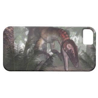 Utahraptor dinosaur hunting a gecko iPhone 5 covers