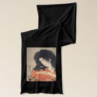 Utamaro's Japanese Art scarfs Scarf