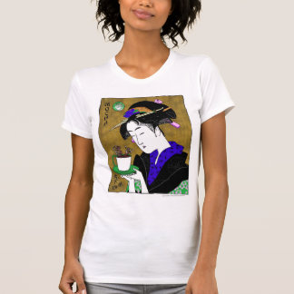 utamaro's mocha T-Shirt