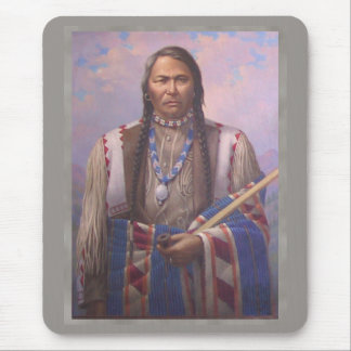 Ute Indian Chief Mouse Pad