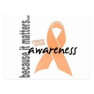 Uterine Cancer Awareness Postcard