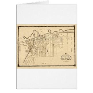Utica 1874 card
