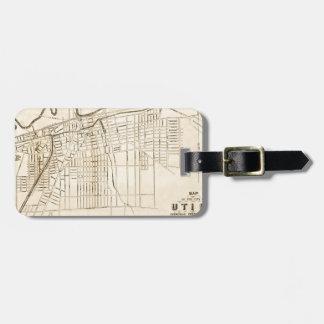 Utica 1874 luggage tag