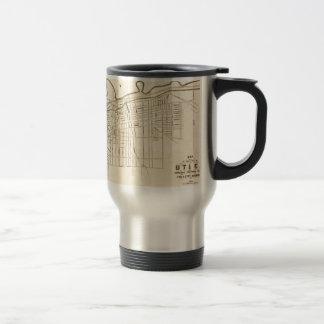 Utica 1874 travel mug