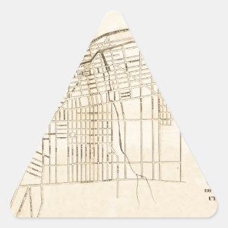Utica 1874 triangle sticker