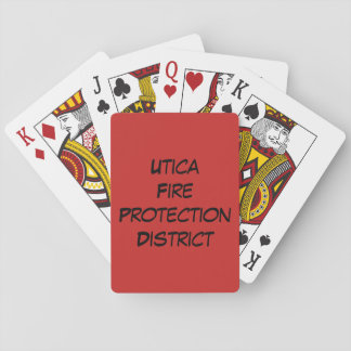 Utica Fire Series Playing Cards
