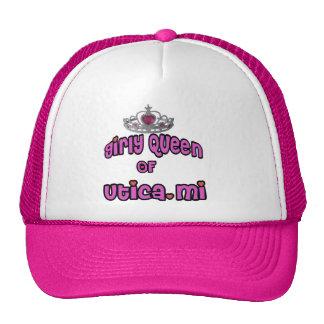 """Utica Michigan """"Girly Queen"""" Hat"""