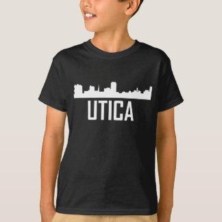Utica New York City Skyline T-Shirt