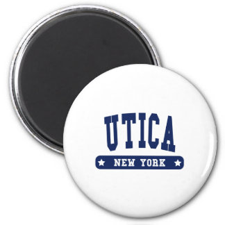 Utica New York College Style tee shirts Magnet