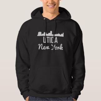 Utica New York Skyline Hoodie