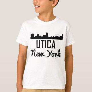 Utica New York Skyline T-Shirt