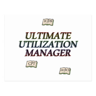 utilization managment postcard
