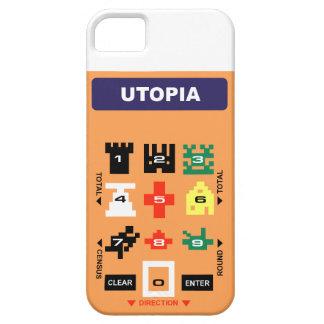 Utopia: Retro Video Game Controller Overlay Cover iPhone 5 Cases