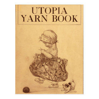 Utopia Yarn Book Postcard