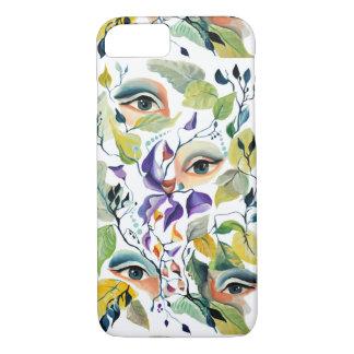 Utopian Avant-Garde Surreal Eyes Design iPhone 8/7 Case