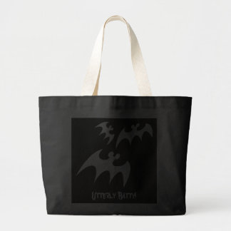 Utterly Batty Tote Canvas Bag