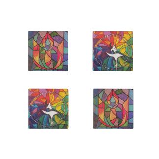 UU Flaming Chalice Original Art Magnets