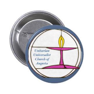 UUCA Blue 6 Cm Round Badge