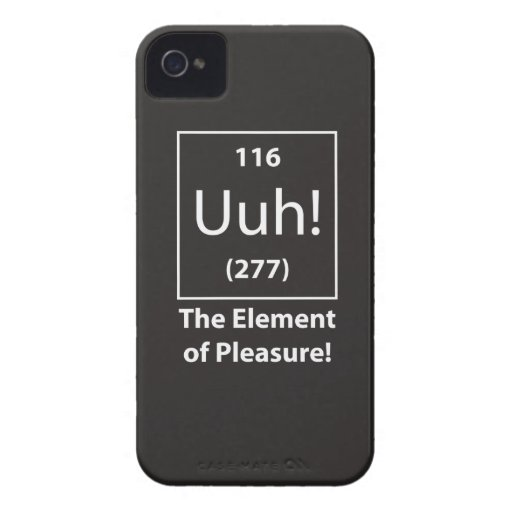 Uuh! The Element of Pleasure Smart Phone Case Blackberry Case
