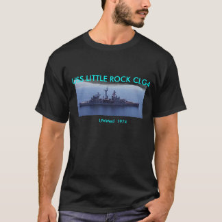 UWMed1974, tshirt_overpocket_3, USS LITTLE ROCK... T-Shirt