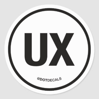UX Sticker