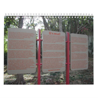 Uxmal Wall Calendars