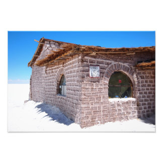 Uyuni salt hotel photo print