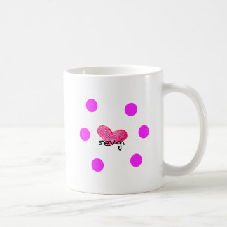Uzbek Language of Love Design Coffee Mug