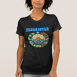 Uzbekistan Coat Of Arms Designs T-Shirt