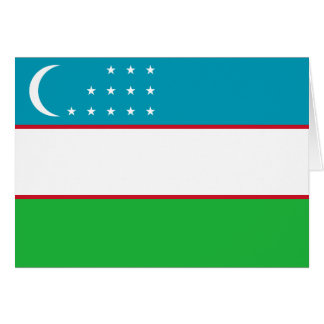Uzbekistan Flag Cards