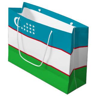 Uzbekistan Flag Large Gift Bag