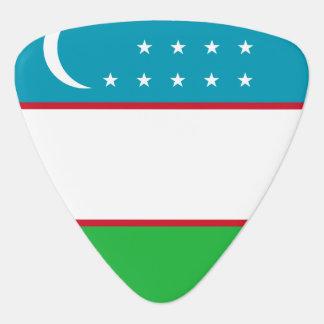 Uzbekistan Flag Plectrum