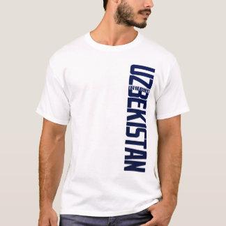 UZBEKISTAN_vert_blue T-Shirt
