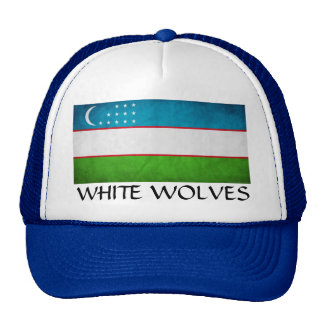 "Uzbekistan ""White Wolves"" Cap"