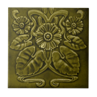 V0050 Victorian Antique Reproduction Ceramic Tile