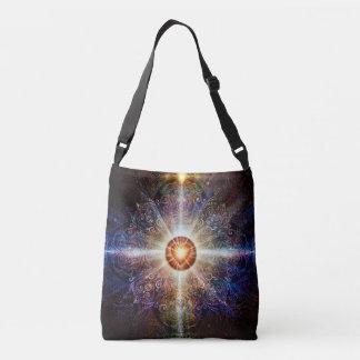 V005-Heart Mandala 2013 Crossbody Bag