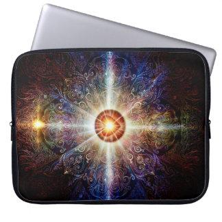 V005-Heart Mandala 2013 Laptop Sleeve
