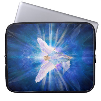 V009-Angel 5 Blue Computer Sleeve