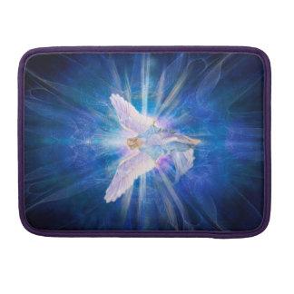 V009-Angel 5 Blue Sleeve For MacBooks