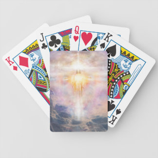 V011-Christ Light Bicycle Playing Cards