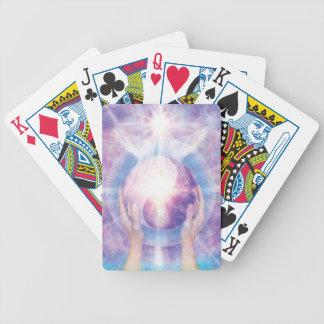 V012- Embracing Yin Yang Bicycle Playing Cards