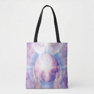 V012- Embracing Yin Yang Tote Bag