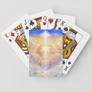V013- Christ Tree of Light Poker Deck