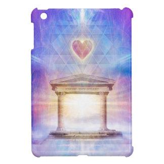 V014- Know Thy Heart Magenta iPad Mini Case