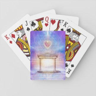V014- Know Thy Heart Magenta Poker Deck