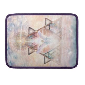 V015- Angel Heart Sleeve For MacBooks
