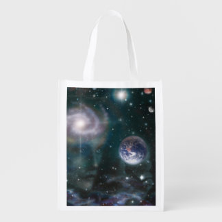 V016- Star Goddess Reusable Grocery Bag