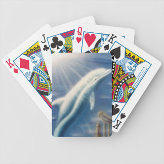 V025- Dolphin Dreamer Bicycle Playing Cards